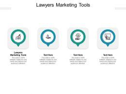 Lawyers Marketing Tools Ppt Powerpoint Presentation Portfolio Visuals Cpb