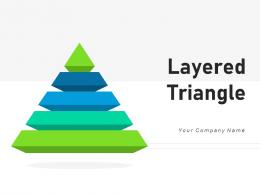 Layered Triangle Strategy Business Corporate Structure Management Planning Process