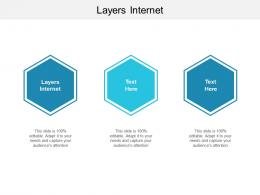 Layers Internet Ppt Powerpoint Presentation Infographic Template Influencers Cpb