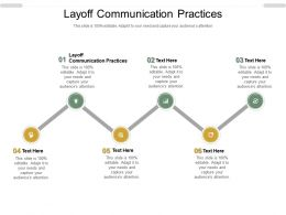 Layoff Communication Practices Ppt Powerpoint Presentation Slides Format Ideas Cpb