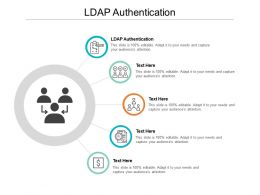 LDAP Authentication Ppt Powerpoint Presentation Slides Summary Cpb