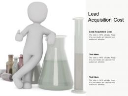 Lead Acquisition Cost Ppt Powerpoint Presentation Inspiration Professional Cpb
