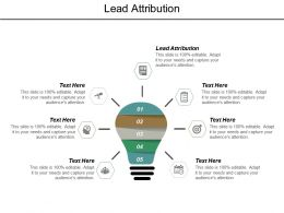 Lead Attribution Ppt Powerpoint Presentation Outline Smartart Cpb