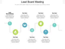 Lead Board Meeting Ppt Powerpoint Presentation Styles Images Cpb
