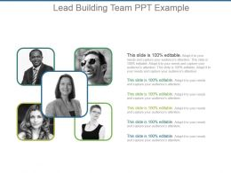 Lead Building Team Ppt Example