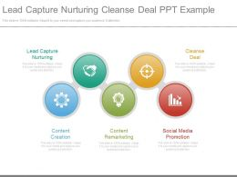 Lead Capture Nurturing Cleanse Deal Ppt Example