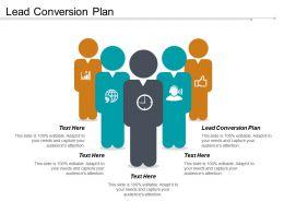Lead Conversion Plan Ppt Powerpoint Presentation File Portrait Cpb