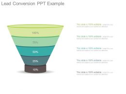 Lead Conversion Ppt Example