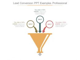 Lead Conversion Ppt Examples Professional