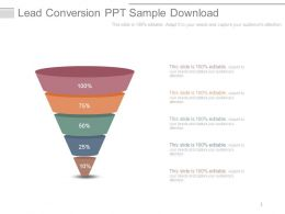 Lead Conversion Ppt Sample Download