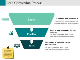 Lead Conversion Process Ppt Example File Template 1