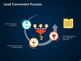 Lead Conversion Process Ppt Icon Guide