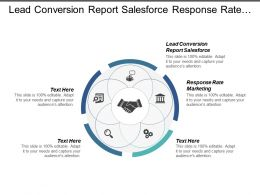 Lead Conversion Report Salesforce Response Rate Marketing Cpb