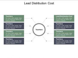 Lead Distribution Cost Ppt Powerpoint Presentation Portfolio File Formats Cpb