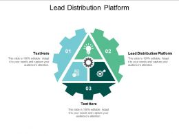 Lead Distribution Platform Ppt Powerpoint Presentation Professional Layout Cpb
