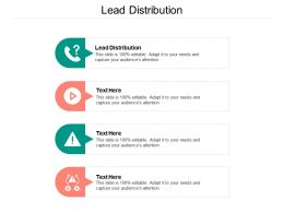 Lead Distribution Ppt Powerpoint Presentation Model Styles Cpb