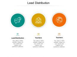 Lead Distribution Ppt Powerpoint Presentation Portfolio Examples Cpb