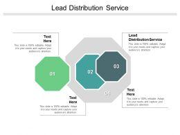 Lead Distribution Service Ppt Powerpoint Presentation Summary Portrait Cpb