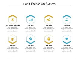 Lead Follow Up System Ppt Powerpoint Presentation Styles Portrait Cpb