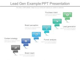 Lead Gen Example Ppt Presentation