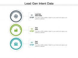 Lead Gen Intent Data Ppt Powerpoint Presentation Gallery Infographics Cpb