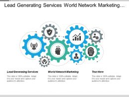 Lead Generating Services World Network Marketing Web Tracking Cpb