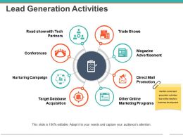 Lead Generation Activities Powerpoint Ideas