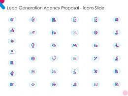 Lead Generation Agency Proposal Icons Slide Ppt Powerpoint Presentation Model Sample