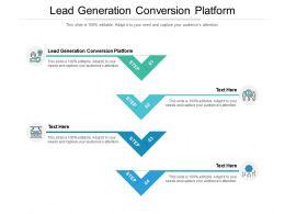 Lead Generation Conversion Platform Ppt Powerpoint Presentation Inspiration Cpb