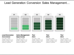 Lead Generation Conversion Sales Management Opportunity Email Marketing