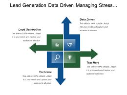 Lead Generation Data Driven Managing Stress Respective Diversity