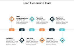 Lead Generation Data Ppt Powerpoint Presentation Icon Master Slide Cpb