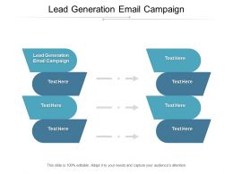 Lead Generation Email Campaign Ppt Powerpoint Presentation Layouts Background Designs Cpb
