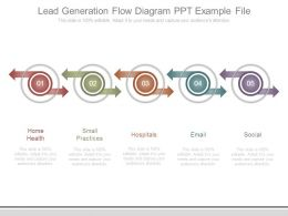 Lead Generation Flow Diagram Ppt Example File