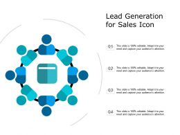 Lead Generation For Sales Icon