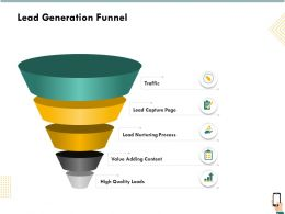 Lead Generation Funnel Content Ppt Powerpoint Presentation Icon Guide