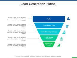 Lead Generation Funnel Growth Ppt Powerpoint Presentation Portfolio Microsoft