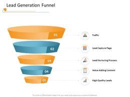Lead Generation Funnel M3408 Ppt Powerpoint Presentation Outline Master Slide