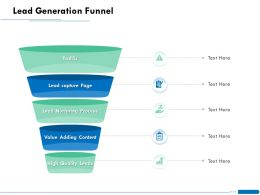 Lead Generation Funnel Page Ppt Powerpoint Presentation Infographic Template Portfolio