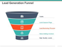 Lead Generation Funnel Powerpoint Images