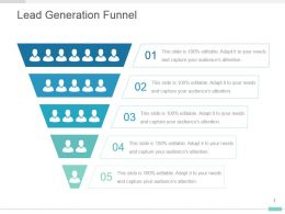 Lead Generation Funnel Powerpoint Presentation Design