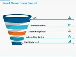 Lead Generation Funnel Ppt Powerpoint Presentation Icon Graphics