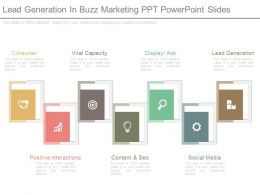 Lead Generation In Buzz Marketing Ppt Powerpoint Slides