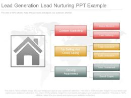 Lead Generation Lead Nurturing Ppt Example