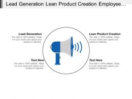 Lead Generation Lean Product Creation Employee Development Plan Cpb
