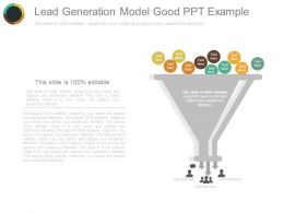 Lead Generation Model Good Ppt Example