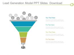 Lead Generation Model Ppt Slides Download
