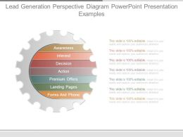 Lead Generation Perspective Diagram Powerpoint Presentation Examples