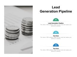 Lead Generation Pipeline Ppt Powerpoint Presentation Professional Samples Cpb