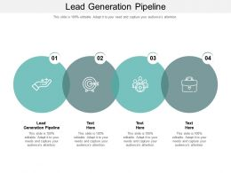 Lead Generation Pipeline Ppt Powerpoint Presentation Styles Example Introduction Cpb